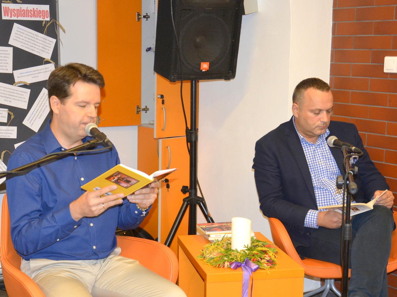 Ilustracja do informacji: Narodowe Czytanie w Środzie Śląskiej