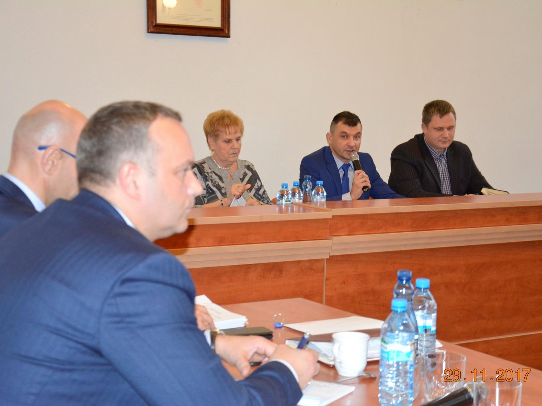 Ilustracja do informacji: 39. sesja rady powiatu