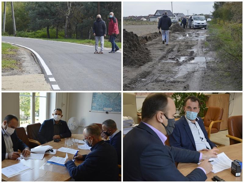 Ilustracja do informacji: Powiatowe inwestycje drogowe