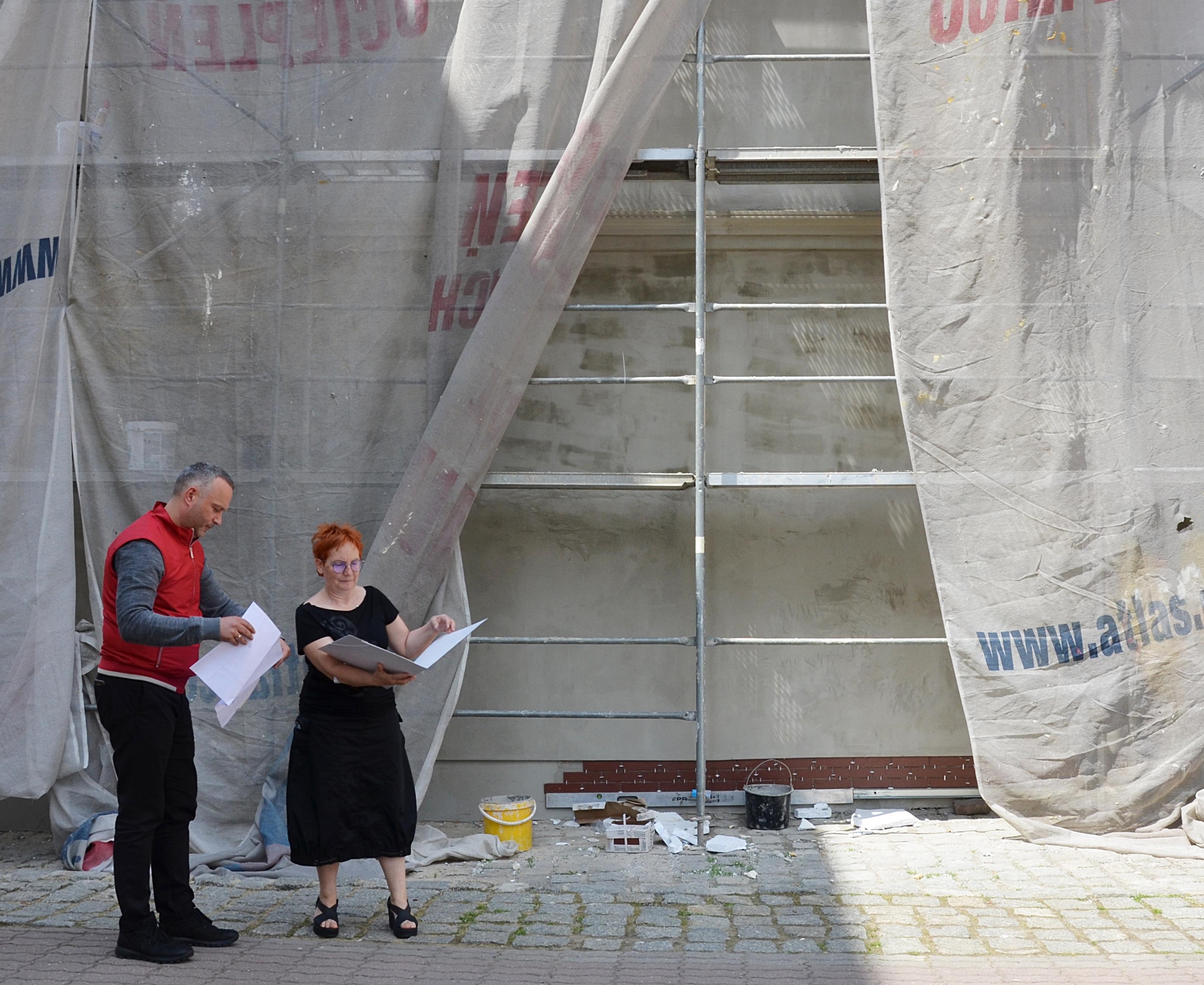Ilustracja do informacji: Na budynku średzkiej szkoły powstanie mural